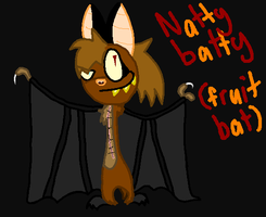 nat the fruit bat by Nat-Skellington