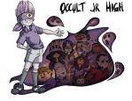 Inazuma Eleven: Occult Jr. High by Card-Queen