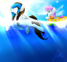 Water Tag by Picklesquidly