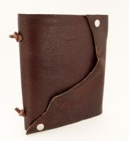 Edged Leather Journal by leighanief
