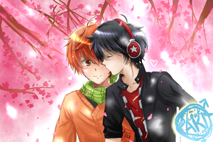 [CE] Under the Cherry Blossoms by TheAwesomeAki-kun