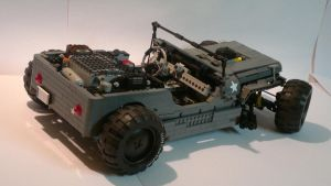 LEGOTechic Willys Rat rod by HorcikDesigns