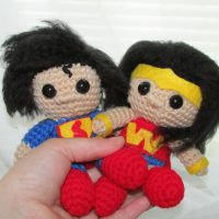 Wonder Woman and Superman by oywiththeplushies
