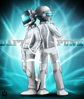 Daft Punk by Siplick