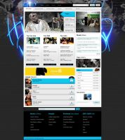 HIP i Hop Web Design by Dexign-Oxigen