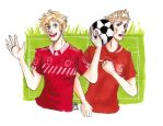 voetbal Ned and Den by AnnHolland