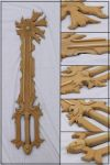 Unpainted Chaos Ripper Keyblade by Sephiroths-Shadow