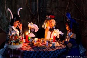 A Mad Tea-Party by AyrOmayra