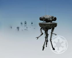 Probe Droid Mark II by 1darthvader