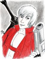 Secret Santa: Dante - Devil may cry by JuanAtoq