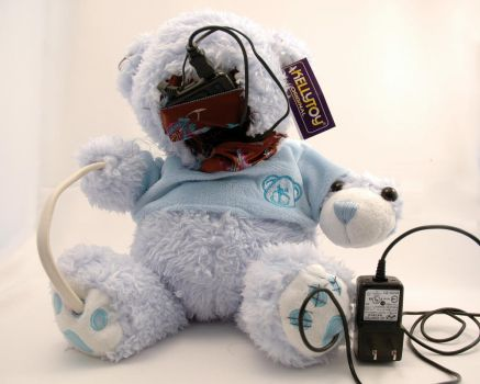 Happy Bear MP3 player by ChrisCanfield