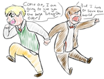 Doctor Who APH: Stag-Do by 1Kymmonster