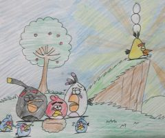 Angry Birds - The Bird That Cried Pig by AngryBirdsStuff