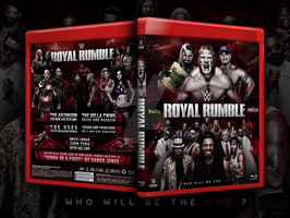 WWE Royal Rumble 2015 Blu-ray cover by Mohamed-Fahmy