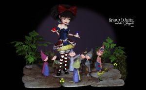 Snow White and the 7 Zwoggels by Dani3D