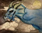 Titanium Smog Dragon Art by bloodlinewolf76