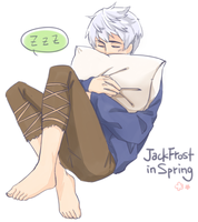 Jack Frost in Spring by dgaw69