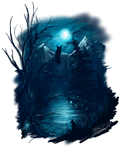 Deeper bluewoods by LordHannu