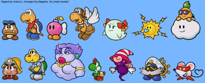 Paper Mario by lightofhope1990