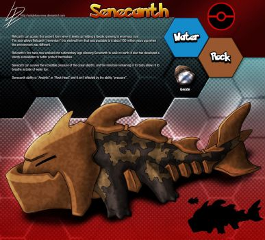 Senecanth- Relicanth fan evolution concept by xXLightsourceXx