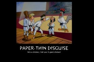 Paper-Thin Disguise by kidrogue42