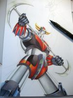 Goldorak, Grendizer by golgoth71