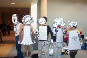 Otakon: Teen Girl Squad by Danni-Stone