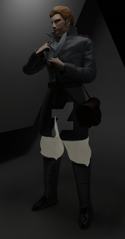 Arkham the Union Soldier WIP 0.8 - GLOWING PANTS! by oskaragnarsson