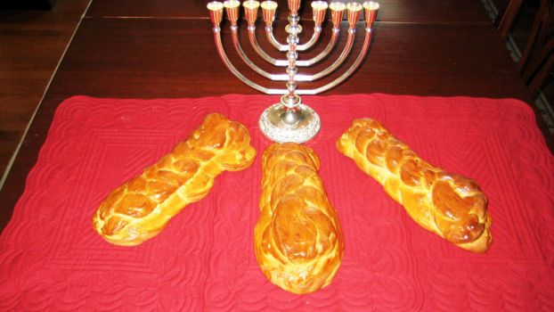 Challah made with love by peachwookiee