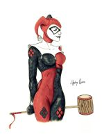 Harley Quinn by Jefferson-Apgar