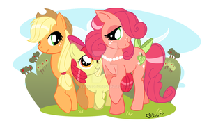 Sweet Apple Acres Girls by EllisArts