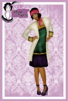 Disney Flapper - Esmeralda by HelleeTitch