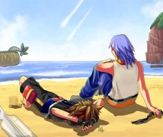Kingdom Hearts II:After Battle by powerswithin