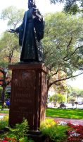 John Wesley Statue by brittanyxm0