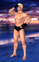 Jacky Bryant(Fighter Meshmod) Dead or Alive 5 by XKamsonX