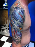 Biomech half sleeve by visualvortex