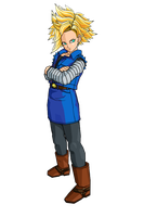SSJ Android 18 by brolyeuphyfusion9500