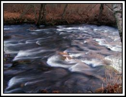 Mount Hope River Rapids by Geayzus