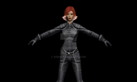 Jean Grey(Famke Janssen)  Movie 3D model. by AKbeaut