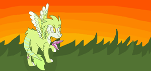 Sunset on the hills by x-Spirit-Wolf-x