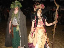 More Costumes at Faerieworlds 2014 by Mistgod