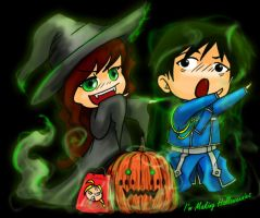 Making Halloweenies by trossidevil