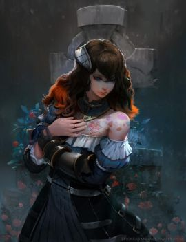 Bloodstained Fan art by Kwehrek