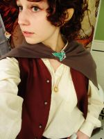 Frodo costume close up by pixi996