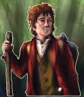 Bilbo  Baggins by ParallelPenguins
