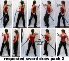 Requested Sword Draw Pack 2 by archetype-stock