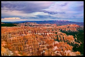 Bryce Canyon at Dusk by ChimpyJay