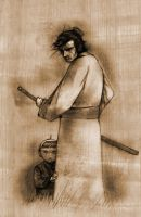 Lone Wolf and Cub by CptFury