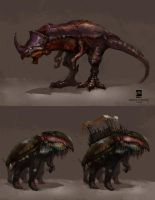 20140826 creatures by psdeluxe