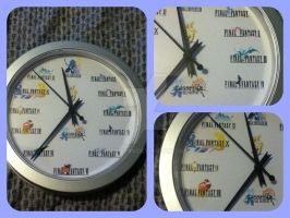 Final Fantasy Clock by magpie89